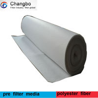 G4 roll auto air filter material/synthetic fiber roll for auto spray booth