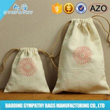 wholesale cotton fabric drawstring bag cotton drawstring bag