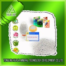 economical bentonite mineral manufacturer for ball-shaped cat litter