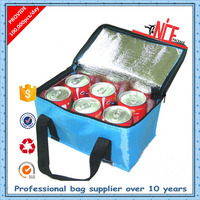 Alibaba China factory cheap wine bottle bag insulated lunch picnic cooler bag for frozen food 2016 new products