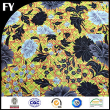 2015 custom digital print 100 cotton single jersey knitted fabric
