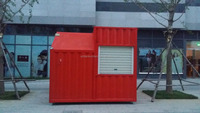 Chinese 2015 modern prebuilt convenience portable prefabricated container store