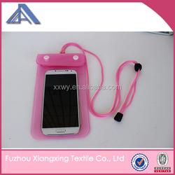 promotional gift waterproof cell phone bag phone waterproof bag