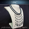 low price wholesale necklace jewelry pendant baroque pearl necklace design