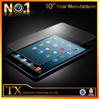 For ipad mini ipad4 anti fingerprint screen protector tempered glass oem