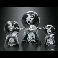 Triad Crystal Globe Award Souvenirs Gifts