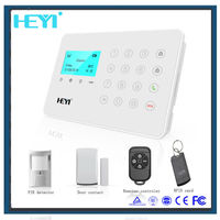 2015 newest smart gsm auto sms wireless security house alarm system made in China