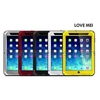 LOVE MEI Waterproof Shockproof Powerful Metal+Aluminium+Gorilla Glass Hybrid Case for iPad Mini