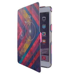 2015 newest design custom printing best cases for ipad mini casing PU leather tablet case china supplier