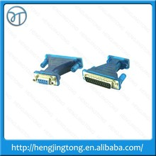 New arrival USB to Serial Converter DB 9 Pin RS232 Cable+ 25 Parallel Adapter