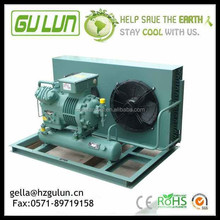 40HP Bitzer cold room condensing unit Horizontal Air cooling condensing unit 6G-40.2