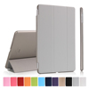 New Arrival Colorful Soft PU Leather Flip Cover Case for iPad Air Housing with Auto Wake Up