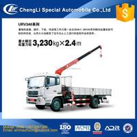 dongfeng truck mounted UNIC crane