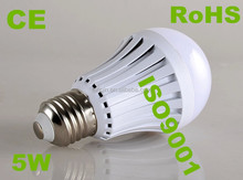 5W rechargeable led emergency bulb last 6 hours after full recharge