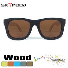 moda madera Gafas de sol polarizadas baratos