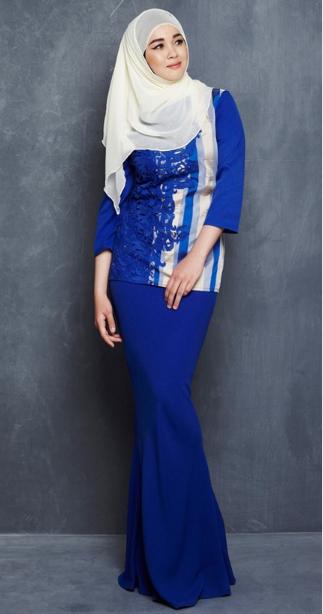 Dress Model Baju Kurung Modern Lace With Iron Stone - Buy Baju Kurung ...