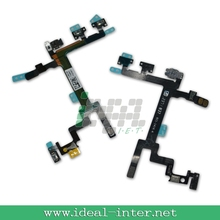 GENUINE For iPhone 5 Power/Lock, Volume & Mute Button Flex Cable ON OFF Original