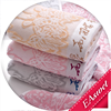 china supplier wholesale soft and beautiful organic bamboo cotton towels