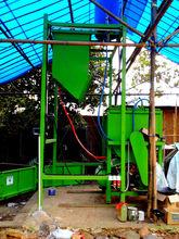 automatic foamed concrete mixing unit