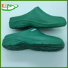 2015 Fuzhou Lady EVA Plastic Clogs shoes EVA Shoe EGA0326-03 Green