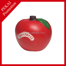 Cheap apples stress balls for promotional gifts