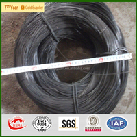black annealed iron wire/alambre/black annealed wire BWG 14 /BWG 16/BWG 18 / 25kg per roll