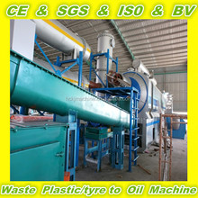 NEW TECHNOLOGY continuous tire pyrolysis equipment with 2 year warranty time
