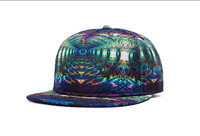 wholesale and retail hip hop adjustable new brand colorful china Polyester snapback hat cap