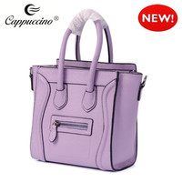 trending fashion match sweet smile lady handbag tote bags for ladies