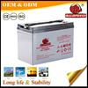 High power 6v 200ah deep cycle gel battery for golf cart
