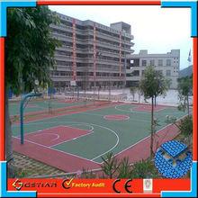 easy maintenance price flooring basket ball hot sell