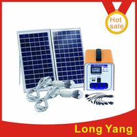 Hot sale! High Quality 12W portable Solar power system/Solar DC generator/solar DC system for lighting and mobile charging