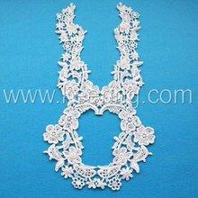 2012 new cotton bridal lace motif for garment WLS-186