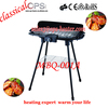 Outdoor foldable korean electric bbq grill stand