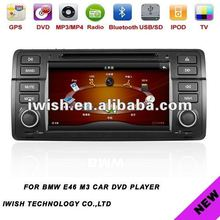 double dins 7inch iwish car dvd radio for BMW E46 M3 Android 4.0