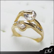 Fashionable simple eternity engagement ring