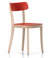 Basel Chair solid wood mordern Jasper Morrison basel wooden chair for dining hot sale grace ABS wooden dining chair