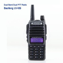 Free Earpiece Dual Band Baofeng Two Way Radio UV-89 With 128 Channels In Hot Selling
