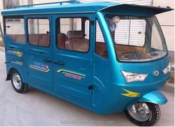 Right steering adult use electric mini van/bus