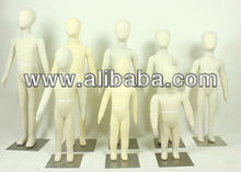 Flexible Foam Mannequin Beige For Sale