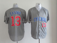 Chicago Cubs 13 Starlin Castro baseball jersey