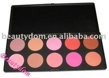 Hot! 2012 professional 10 Nature Contour Blush palette