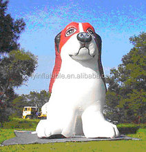 Giant inflatable dog replica, customize inflatable dog, inflatable animals replica