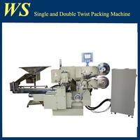 High Speed High Quality Conveying Single and Double-twist Chocolate Wrapping Machine