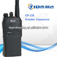 vhf uhf handheld 5w GP328 professonal walkie talkie radio for motorola