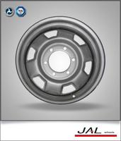 factory best sale silver car rims wheels for middle east market