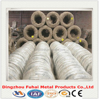 plstic film inside and hessian cloth outside packing galvanized iron wire/electro galvanized/hot-dipped galvanized
