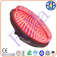 traffic supplier 300mm Red Ball LED module 12v red tupe Traffic Signal Module