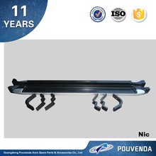 Aluminum alloy +rubber running board For Toyota Hilux Vigo side step bar /running board Auto accessories from pouvend