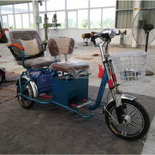 2015 newest electric tricycle for passenger with basket